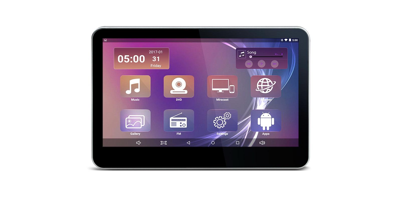527af49042f 10,1″ HD ekraaniga Android 5.1 meediakeskus peatoe külgeEsimene Android 5.1  op. süsteemi, Quad Core'i, mahutundliku puute-ekraani ja DVD-mängijaga auto  ...