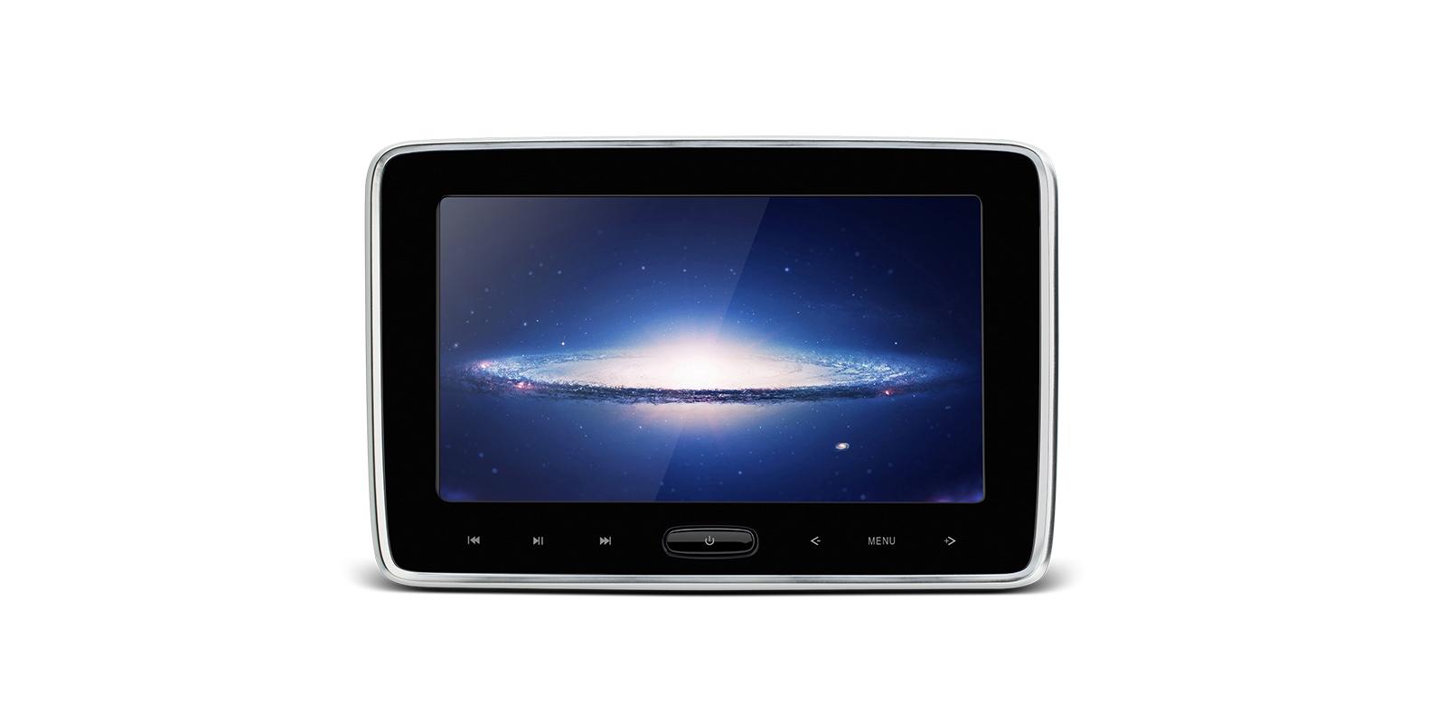0f90ad2402f 10,1″ HD ekraaniga meediakeskus peatoe külge10,1