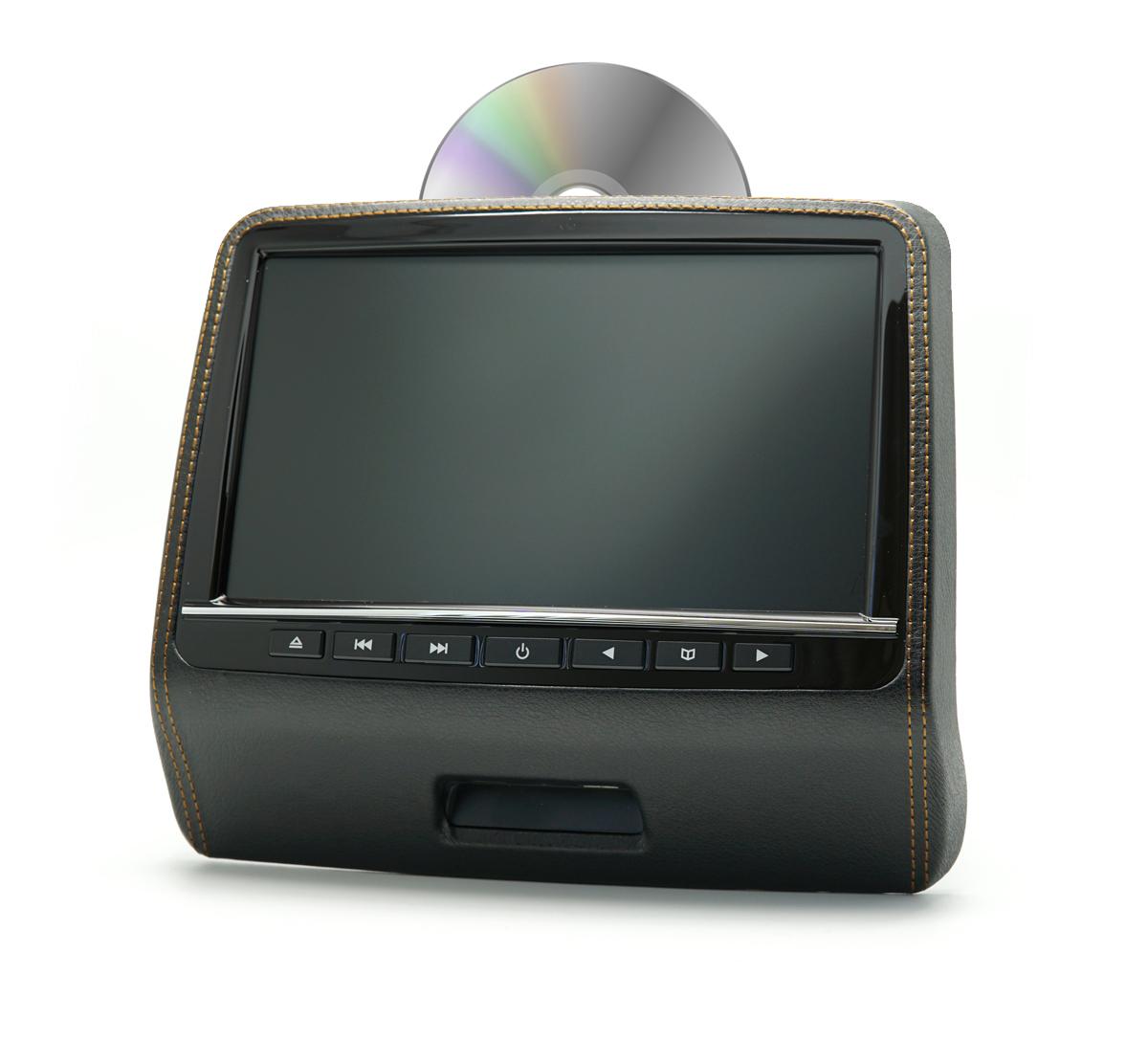 e967bbb593b Monitor peatoe külge DVD'gaMeelelahtus auto tagaistmel. Peatoemonitor DVD