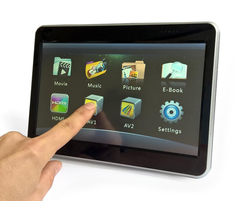 e1f3ca61030 Monitor peatoe külge USB / HDMIMeelelahutus auto tagaistmel